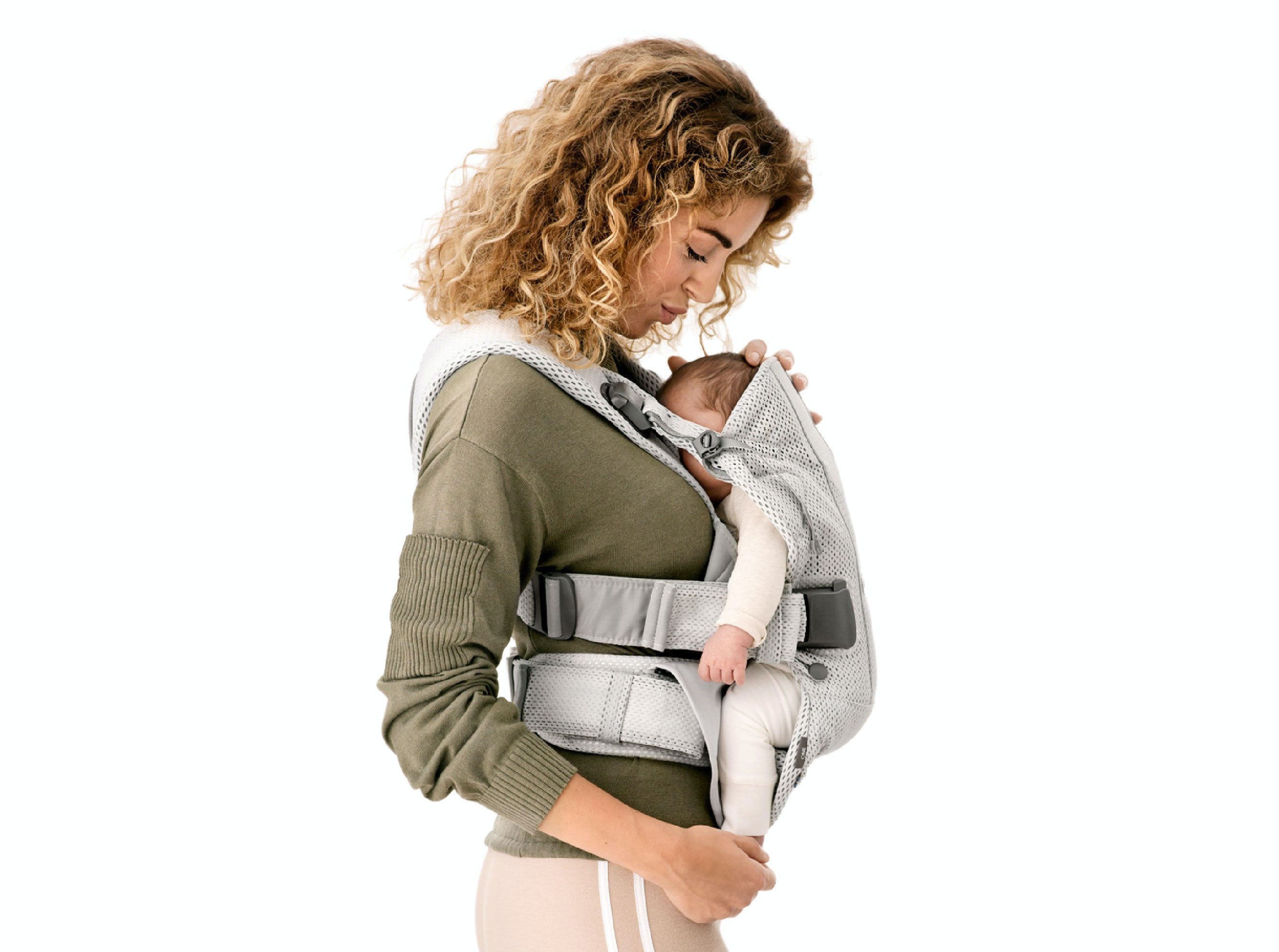 Porte-bébé One Air physiologique en mesh