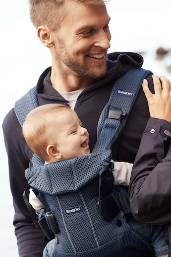 Baby Carrier One Air Navy Blue 3D Mesh - BABYBJÖRN