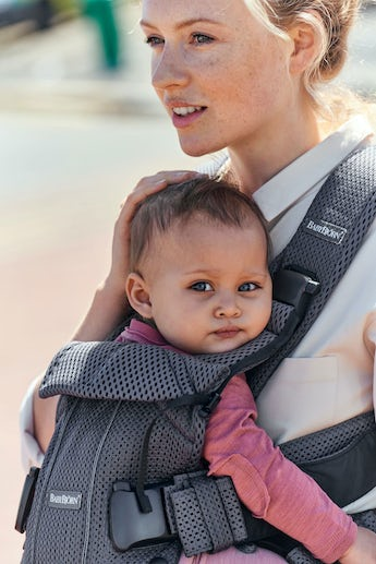 Baby Carrier One Air - Anthracite - 3D-Mesh - BABYBJÖRN