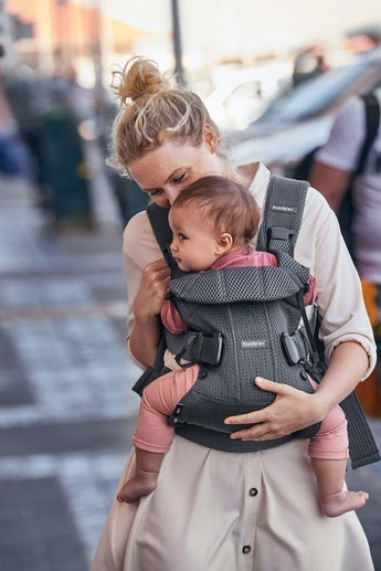 Baby Carrier One Air in Anthracite Mesh - BABYBJÖRN