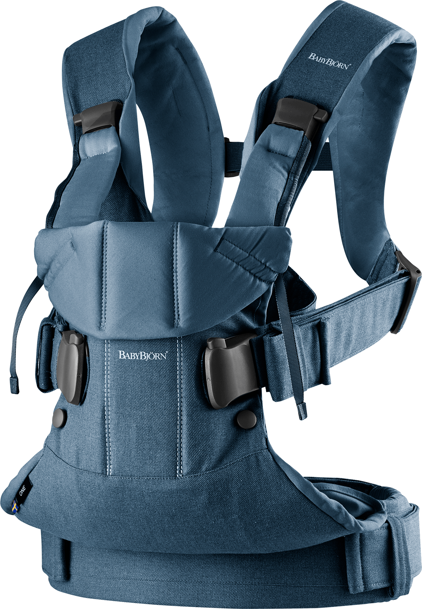 BABYBJÖRN Baby Carrier One 2018 Denim Midnight Blue