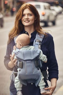 Baby Carrier One Air Slate Blue 3D Mesh - BABYBJÖRN