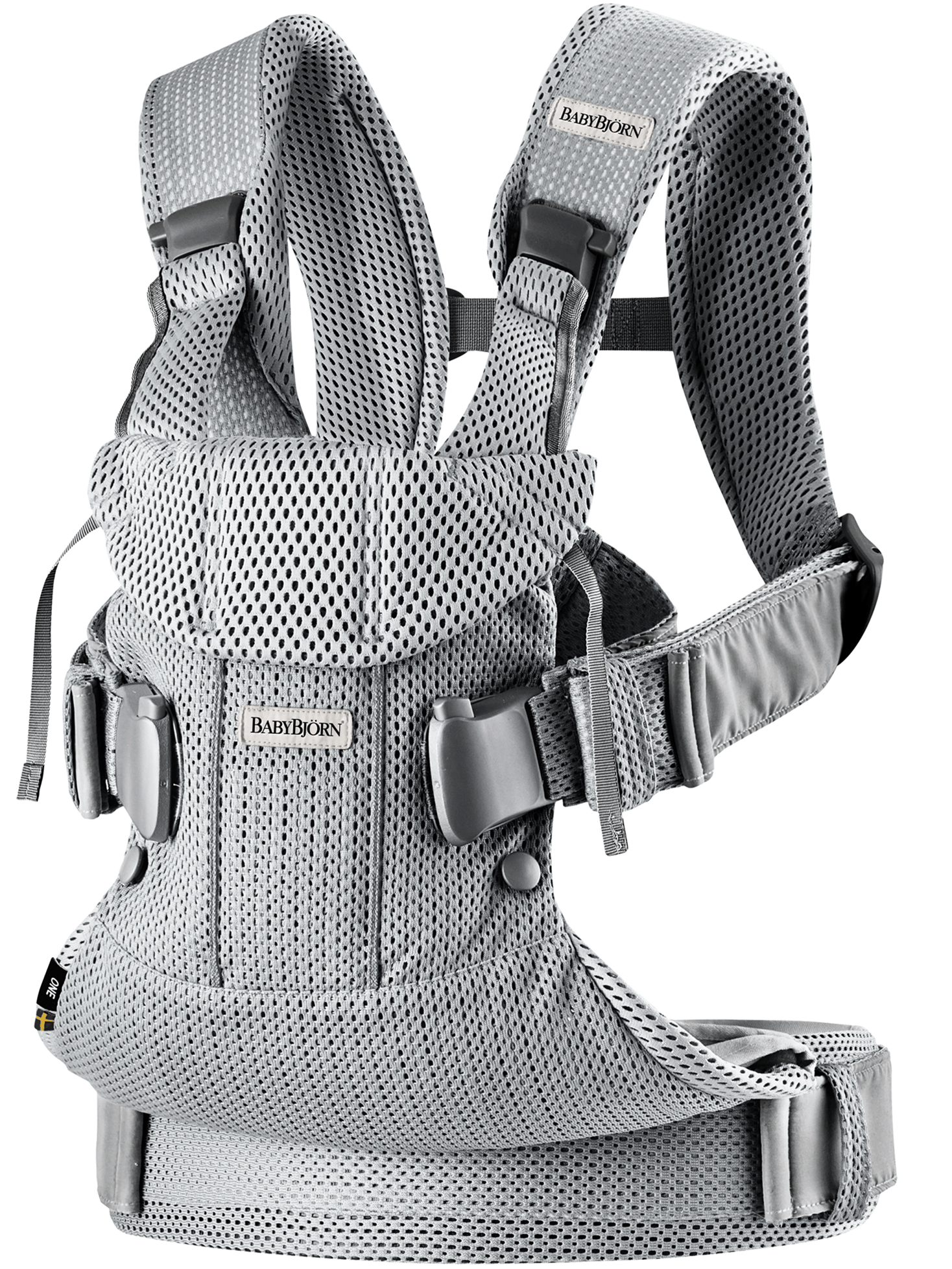 Bärsele One Air Silver 3D Mesh