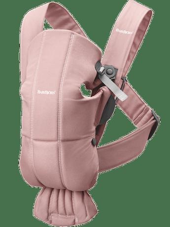 Baby Carrier Mini Dusty Pink Cotton - BABYBJÖRN
