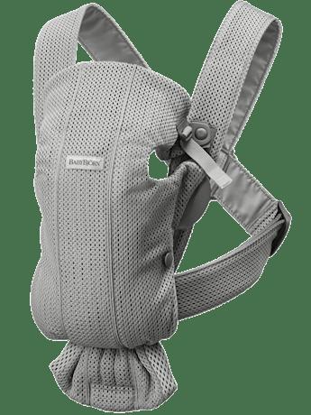 Babytrage Mini Grau in 3D-Mesh - BABYBJÖRN