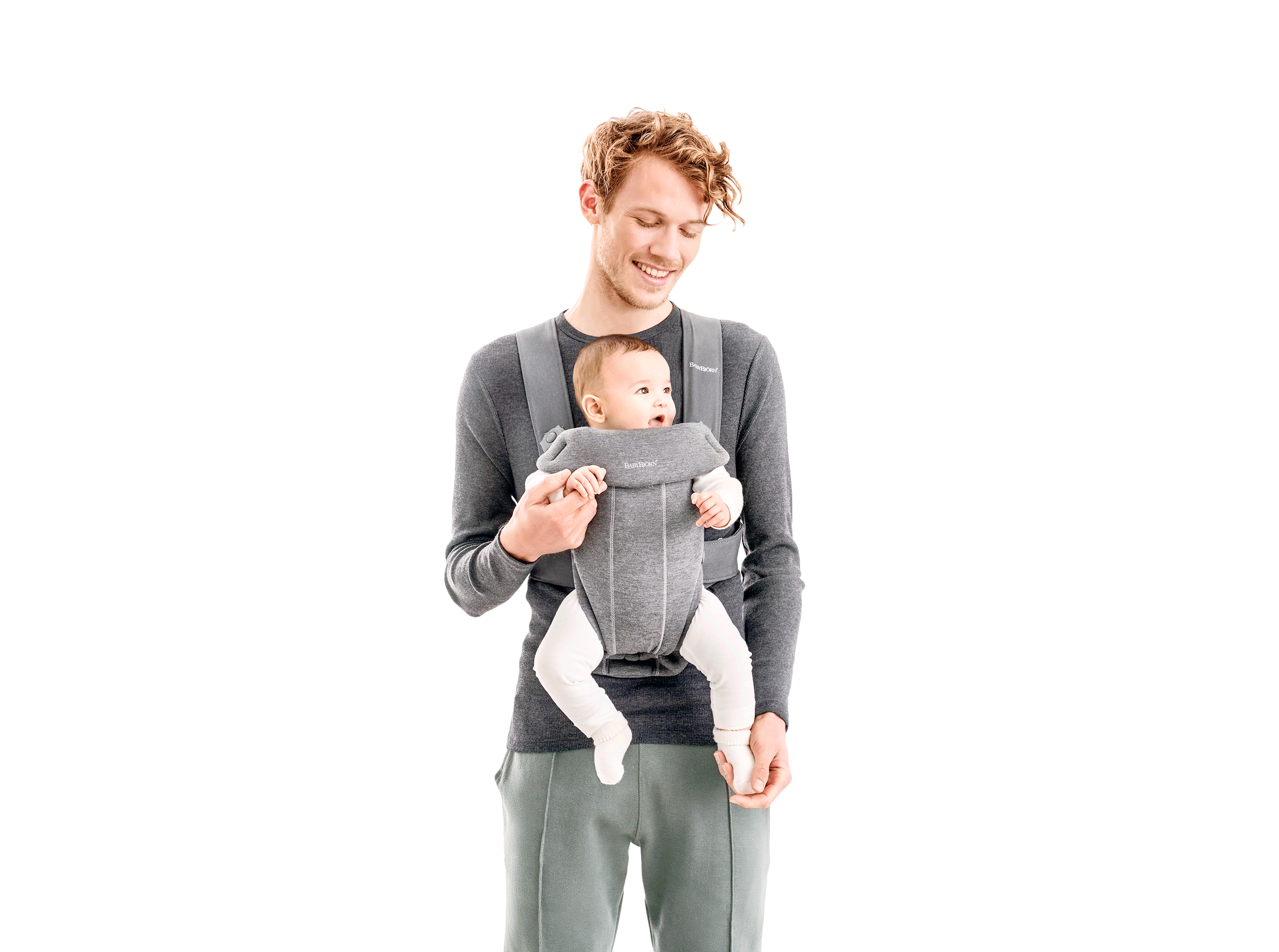 how to use baby carrier with newborn