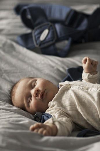 Baby Carrier Mini Doveblue 3D Jersey - BABYBJÖRN