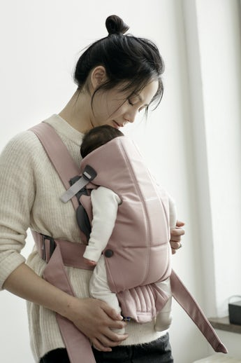 Baby Carrier Mini Dusty pink - BABYBJÖRN