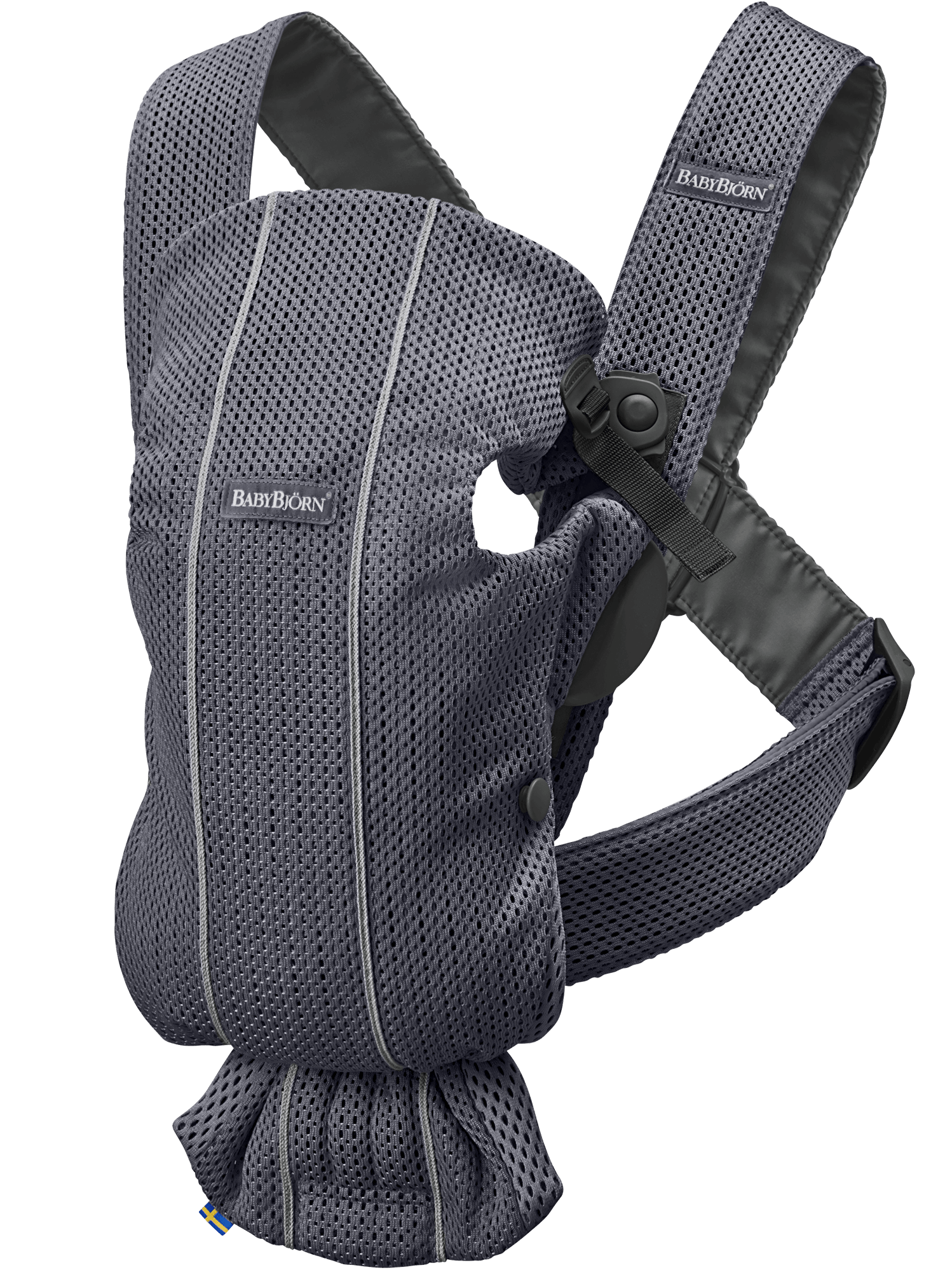 Bärsele Mini Antracitgrå 3D Mesh