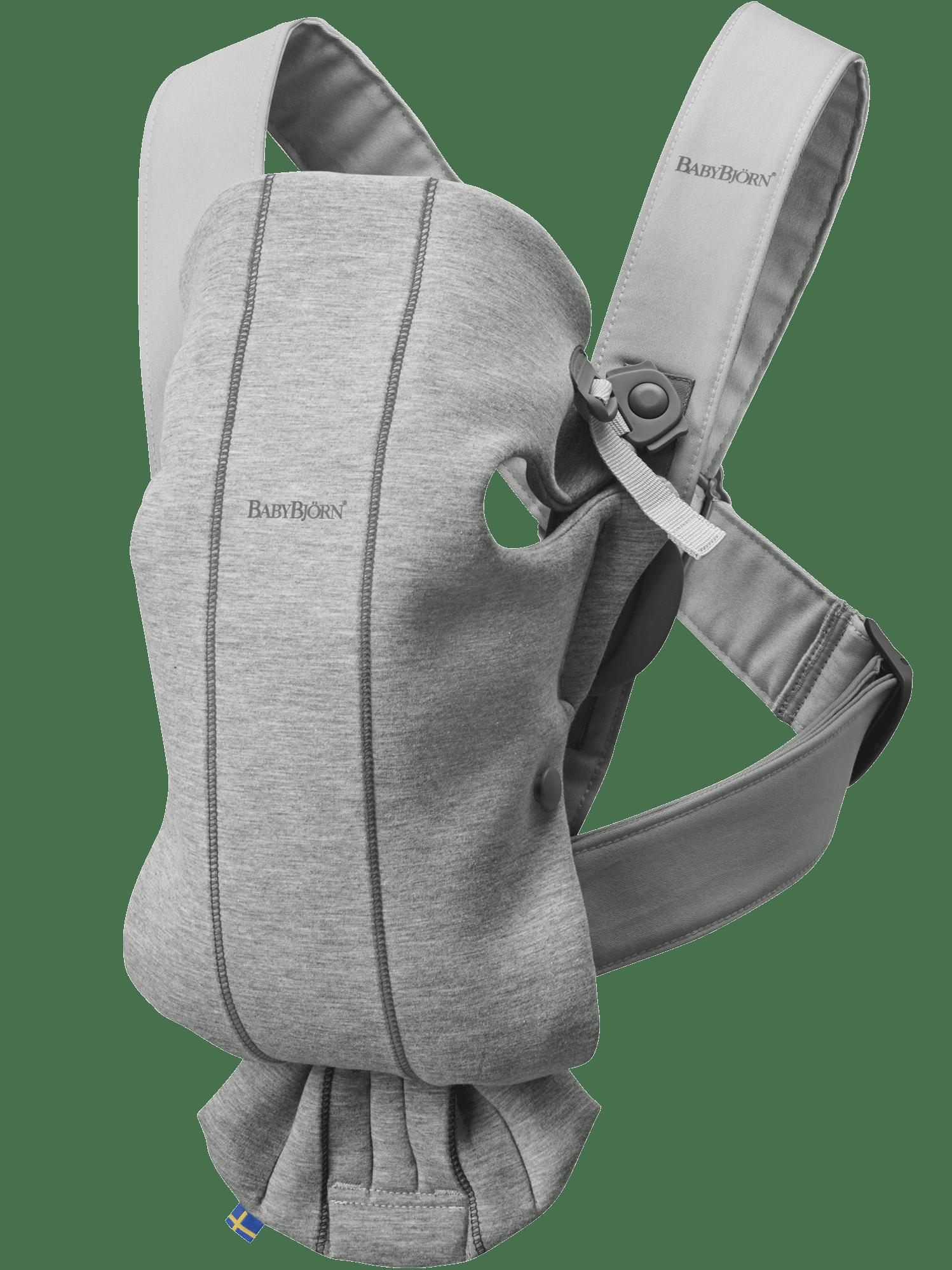 Bärsele Mini, 3D Jersey, ljusgrå
