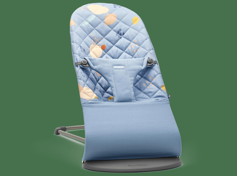 BABYBJÖRN Babysitter Bliss, Konfetti/Blå, Cotton – Baby Power Collection