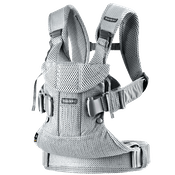 Baby Carrier One Air in Silver Mesh - Airy and Soft - BABYBJÖRN