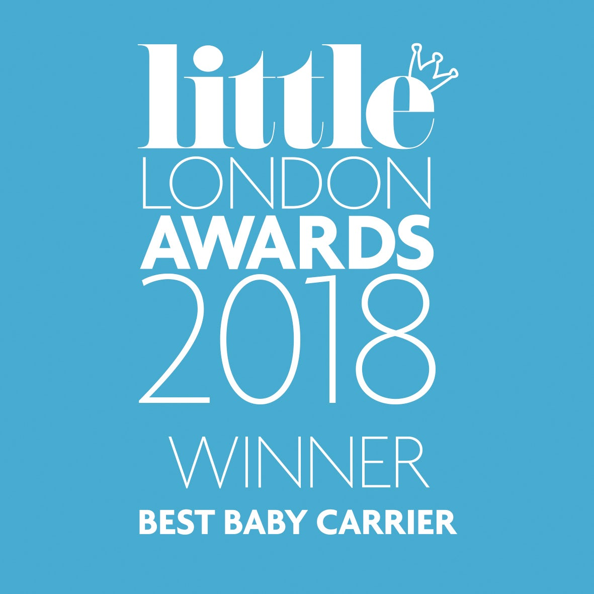 Little London Award 2018 Baby Carrier Mini - Best Baby Carrier