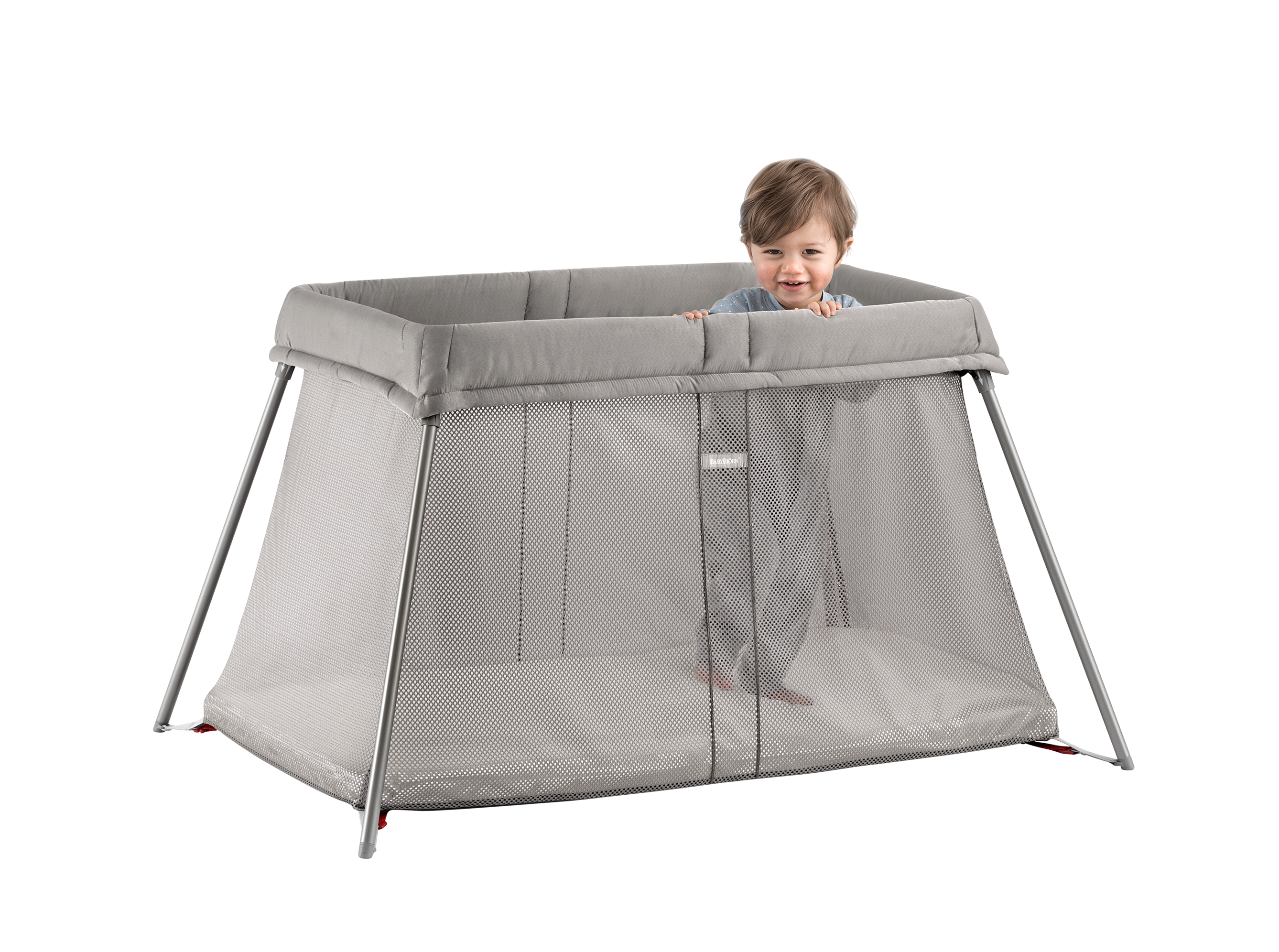 small travel cot for baby – easy to use | babybjÖrn