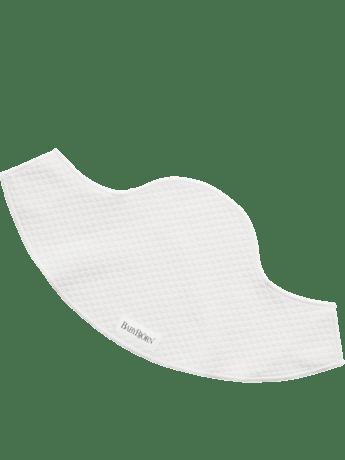 Haklapp för bärsele Mini vit