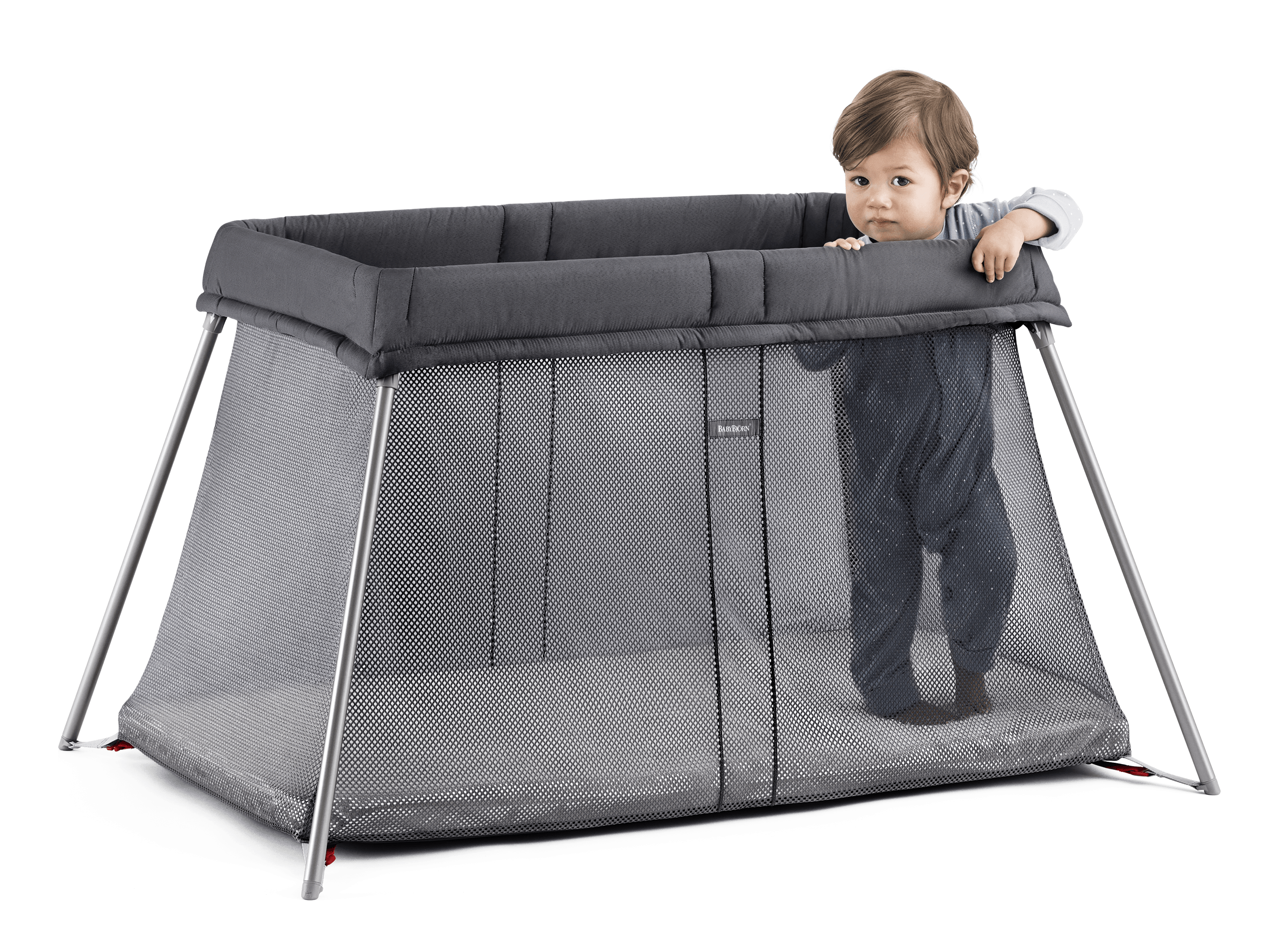 small travel cot for baby easy to use babybj rn. Black Bedroom Furniture Sets. Home Design Ideas