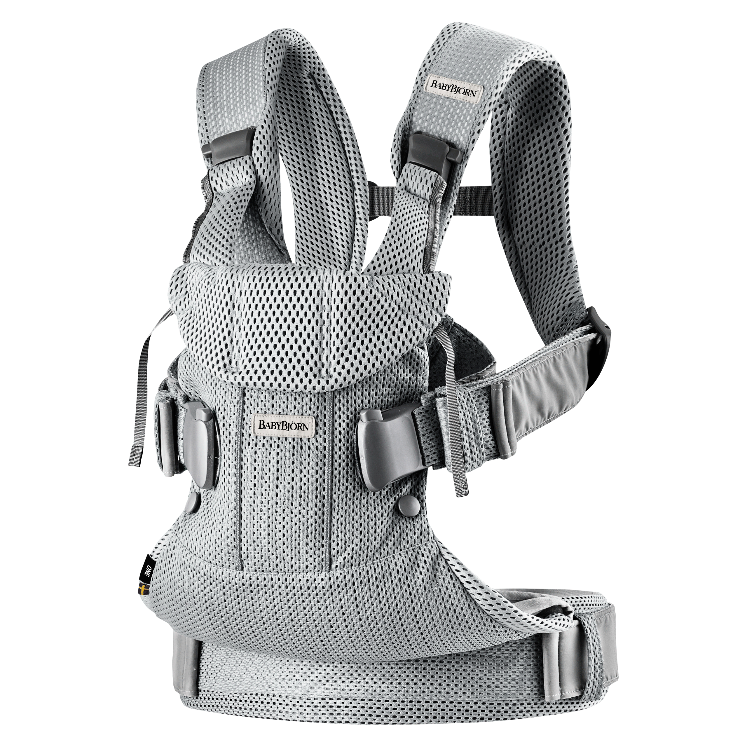 BABYBJORN-Barsele-One-Air-Silver-Mesh-098004