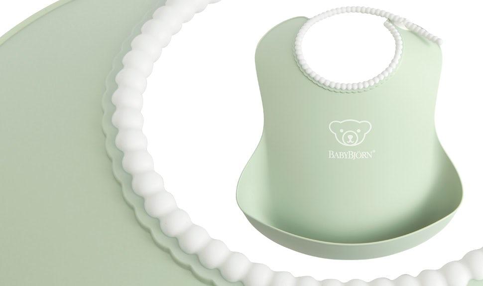 Coffret repas bébé BABYBJÖRN, Vert pastel