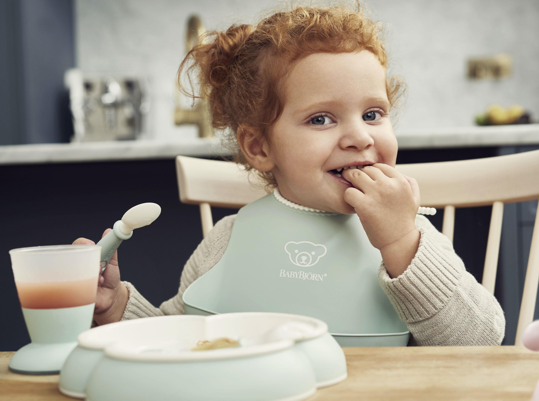 Juego de cubiertos bebé – BABYBJORN - ¡Nuevo!