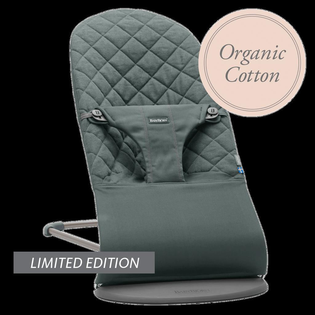 Bouncer-Bliss-Grayish-Green-Organic-cotton-006068-BABYBJÖRN-limited-edition