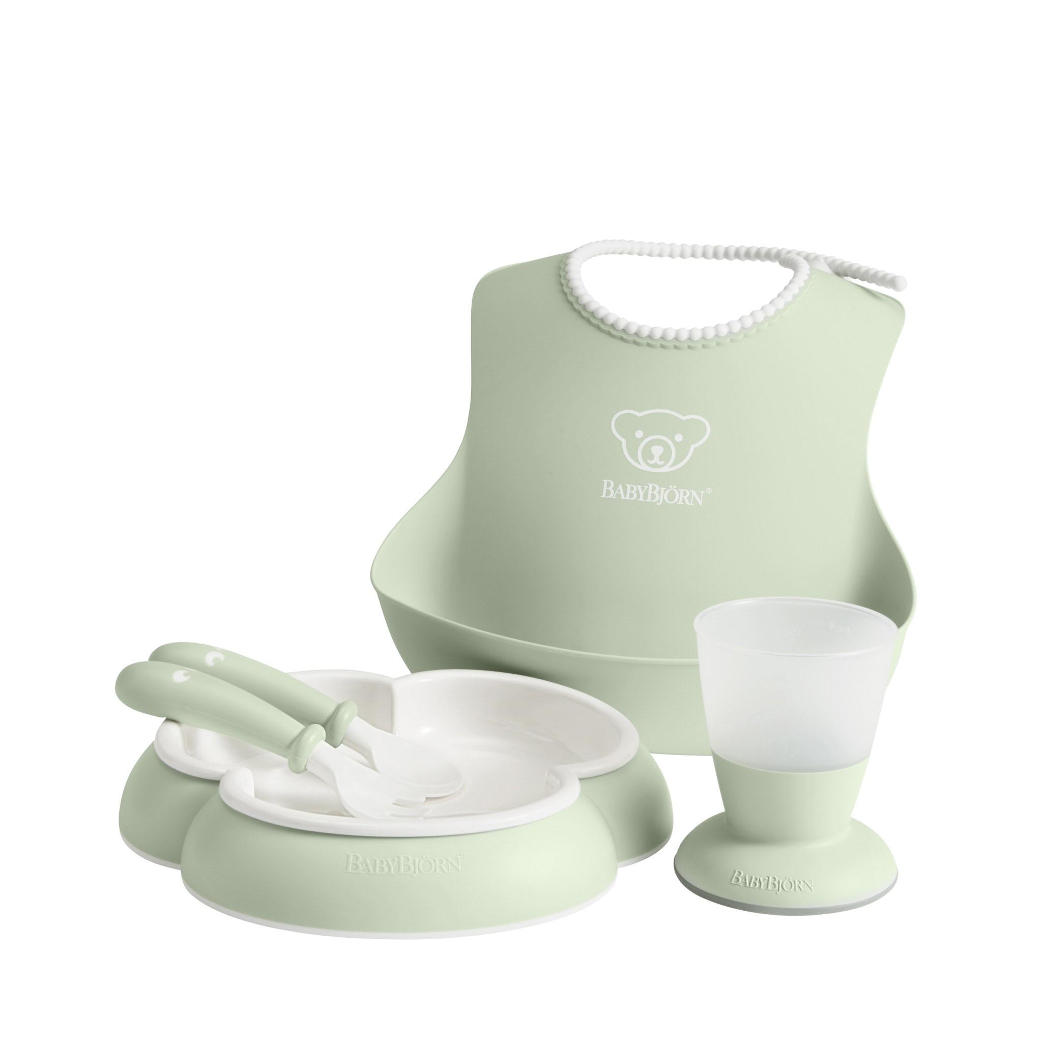 Middagsset för barn Blekgrön - BABYBJÖRN