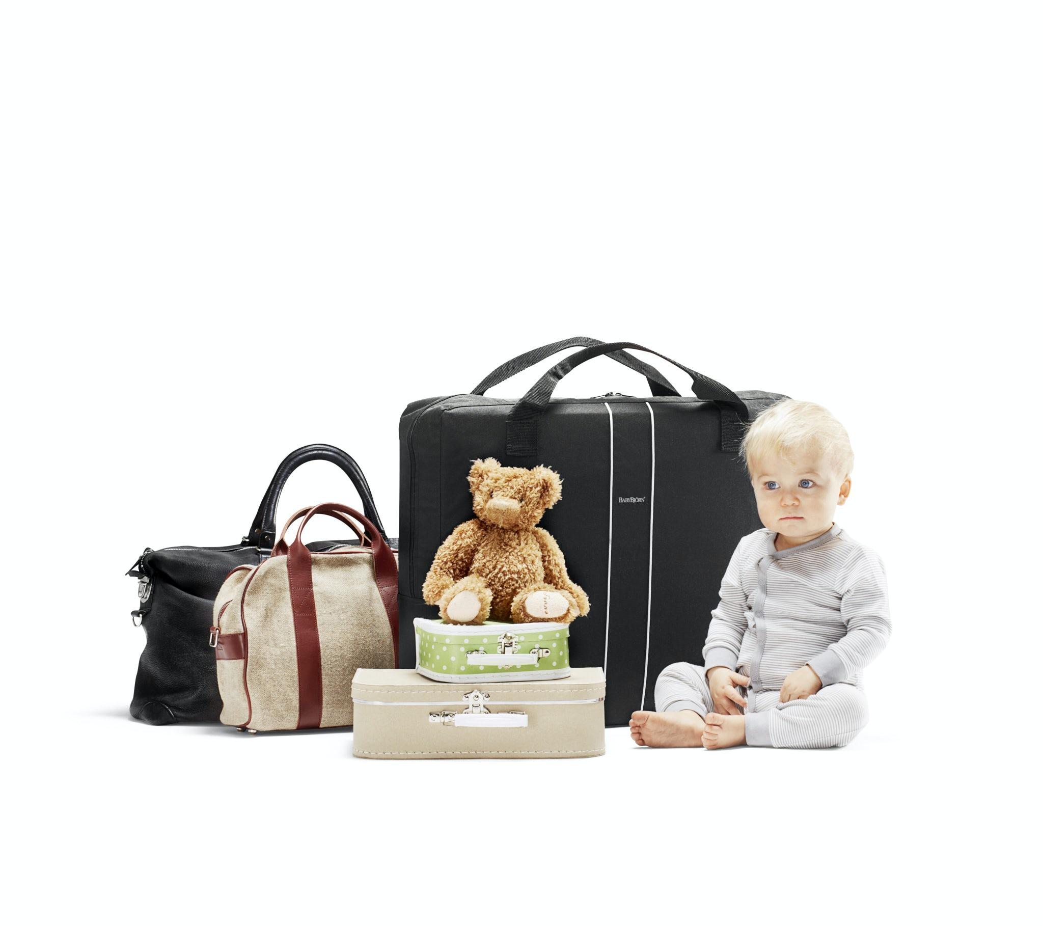 Transporttasche für Reisebett Light Schwarz BABYBJÖRN