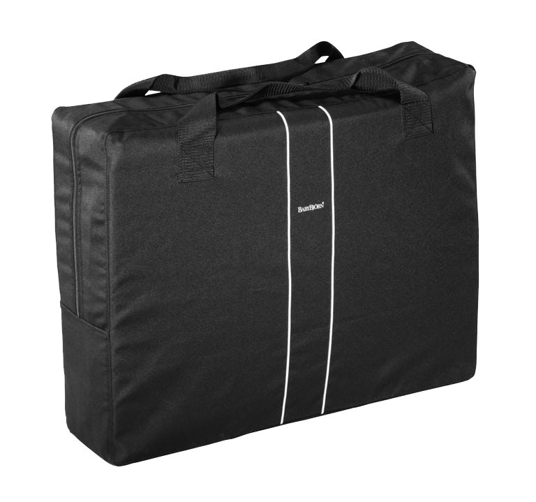 Transport Bag For Travel Cot Light Black - BABYBJÖRN