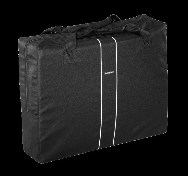Transport Bag for Travel Crib Light Black - BABYBJÖRN