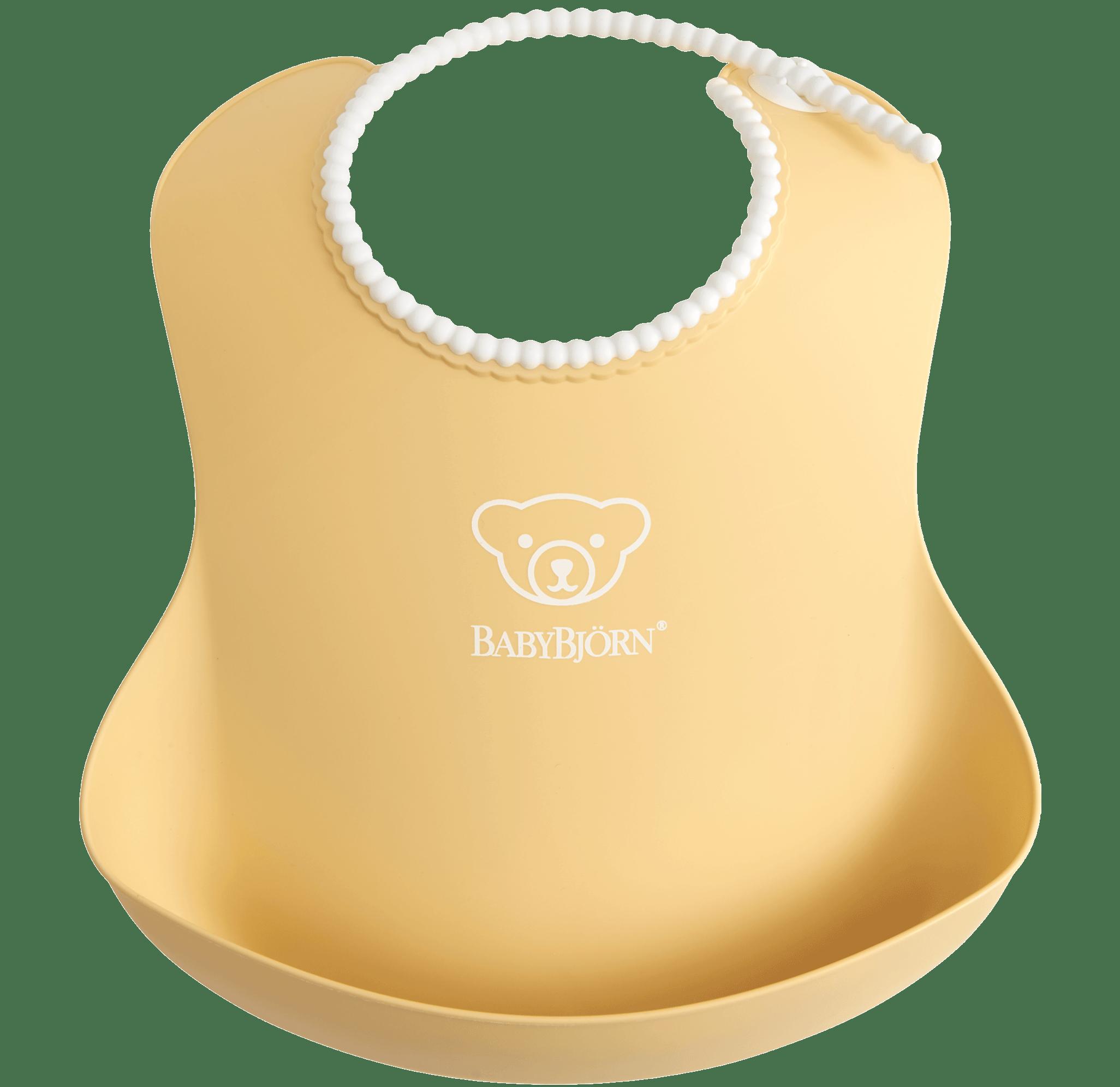 baby-bib-1pack-powder-yellow-BABYBJÖRN