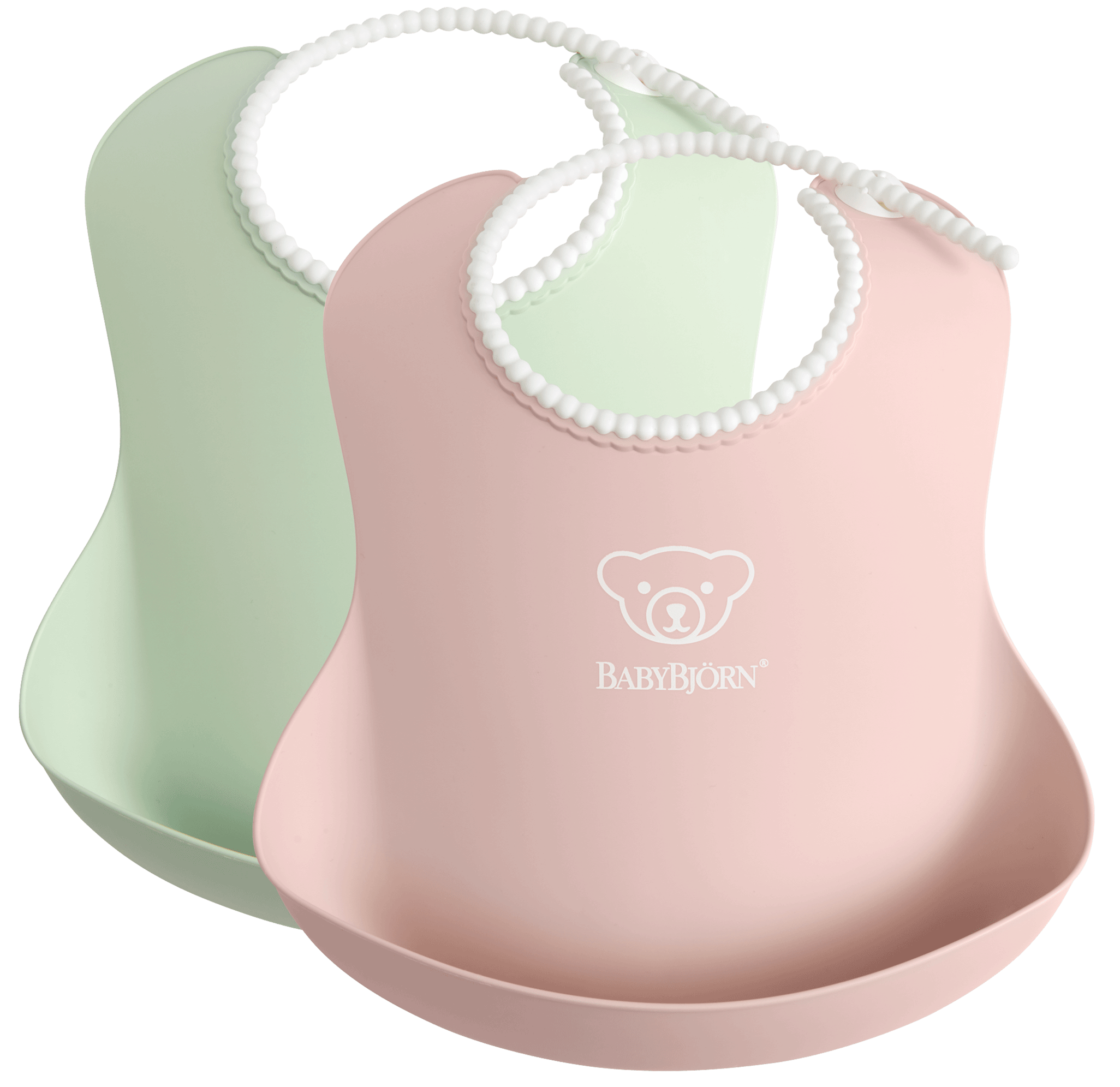baby-bib-colour-powder-green-pink-BABYBJÖRN