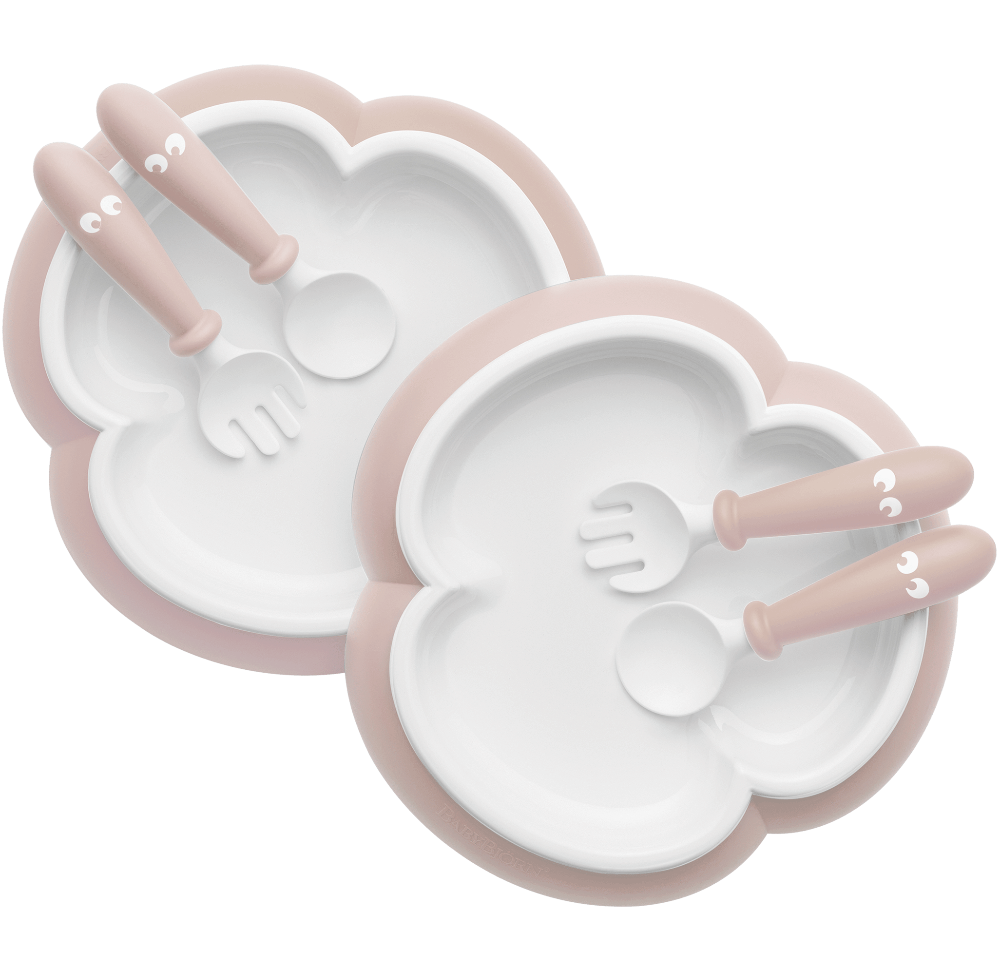 baby-plate-spoon-and-fork-2-sets-powder-pink-babybjorn