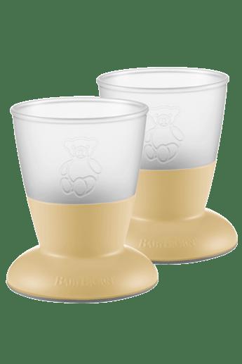 Bicchiere Per Bambini 2pz Giallo Chiaro - BABYBJÖRN