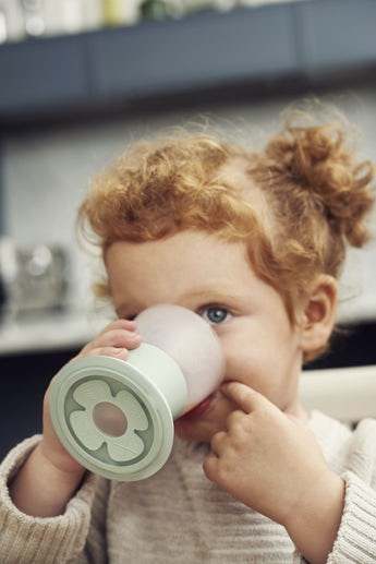 Bicchiere Per Bambini 2pz Verde Chiaro - BABYBJÖRN