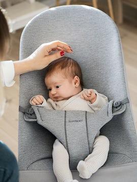 Babysitter Ljusgrå 3D Jersey - BABYBJÖRN