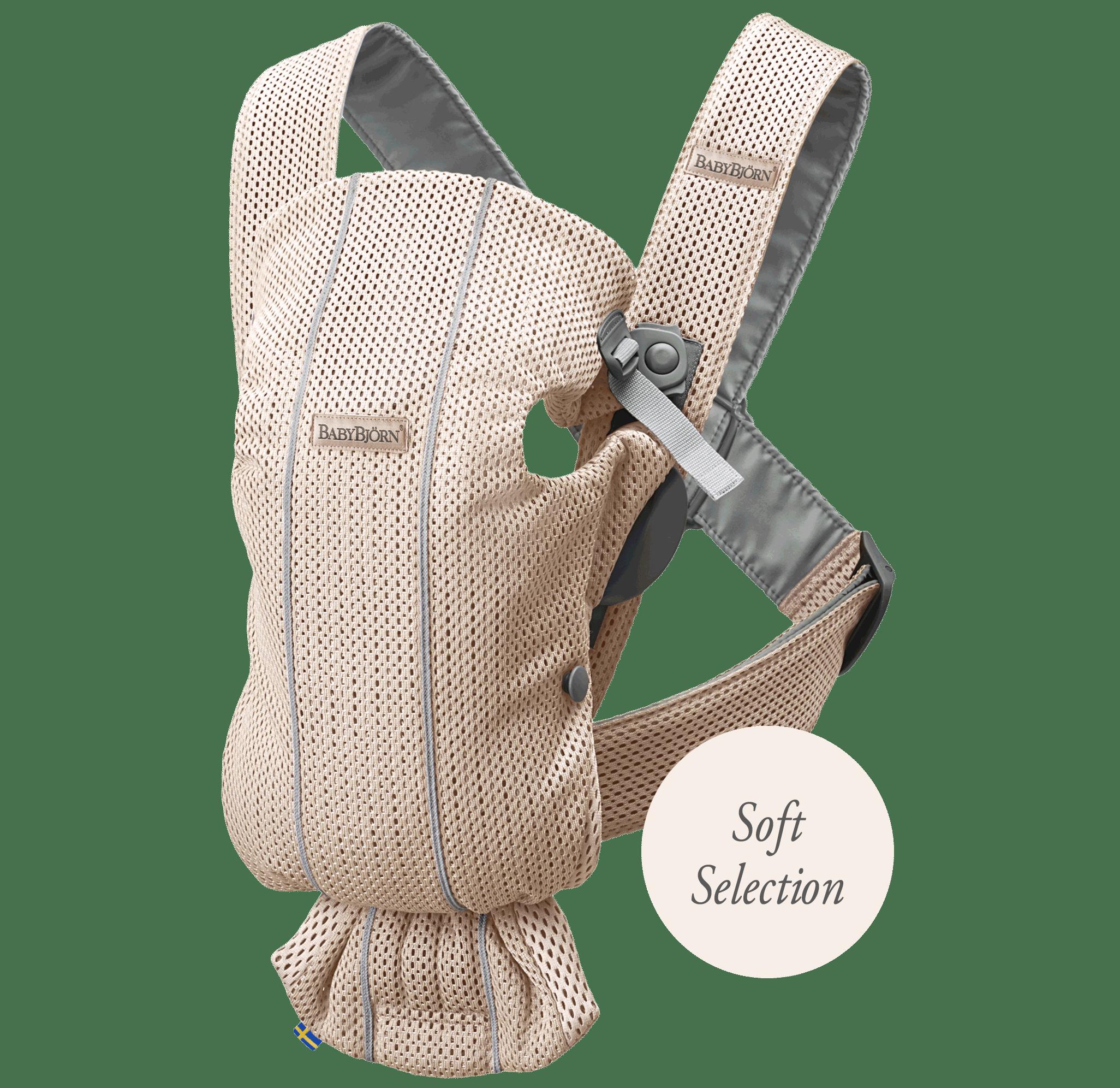 Bärsele Mini Pärlemorosa Mesh Soft Selection - BABYBJÖRN