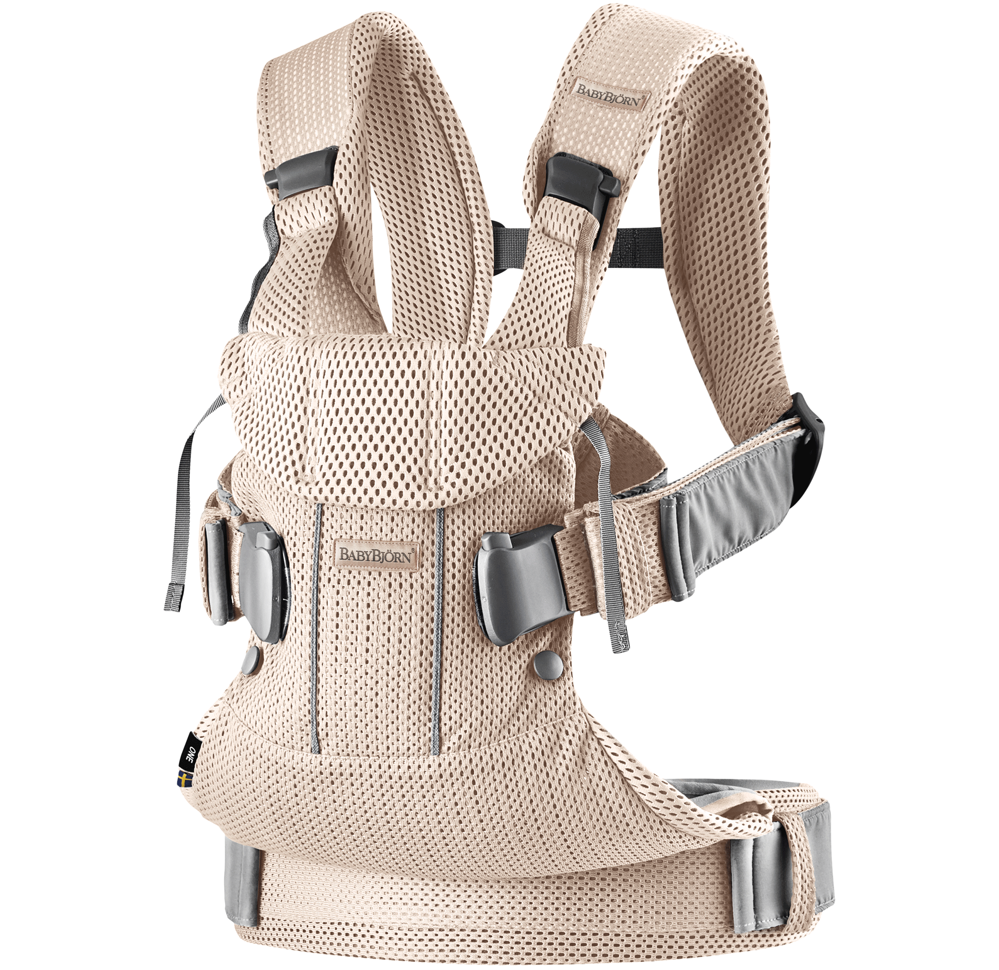 Baby Carrier Pearly pink 3D Mesh 098001, new colours 2019 - BABYBJORN