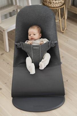 Babysitter Bliss Svartgrå 3D Jersey - BABYBJÖRN