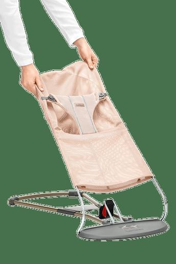 Extra tygsits till Babysitter Bliss i Pärlemorosa luftig Mesh - BABYBJÖRN