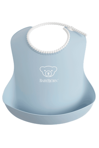 Baby Bib in Powder Blue - BABYBJÖRN