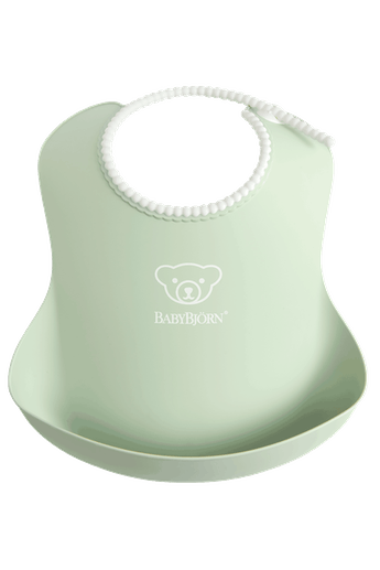 Baby Bib in Powder Green - BABYBJÖRN