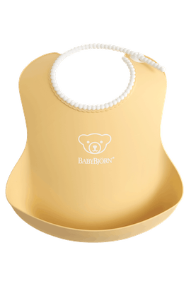 Baby Bib in Powder Yellow - BABYBJÖRN