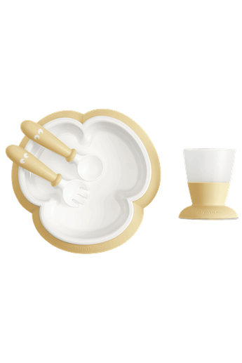 Baby Feeding Set in Powder Yellow - BABYBJÖRN