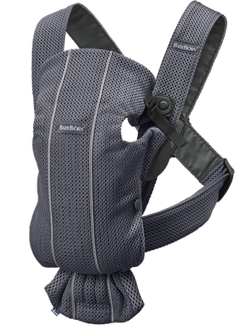 Baby Carrier Mini Anthracite Mesh - BABYBJÖRN