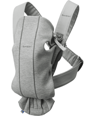 Baby Carrier Mini Light Grey 3D Jersey - BABYBJÖRN