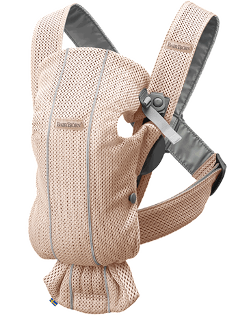 Baby Carrier Mini Pearly Pink in airy Mesh - BABYBJÖRN