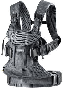 Baby Carrier One Air Anthracite in airy 3D Mesh - BABYBJÖRN