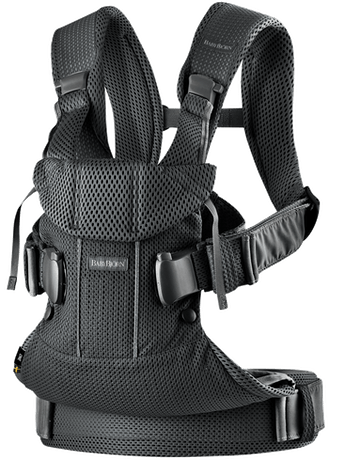 BABYBJORN Baby Carrier Air - Black, 3D mesh