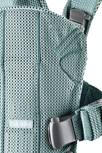 BABYBJORN Baby Carrier Air - Frost green, 3D mesh