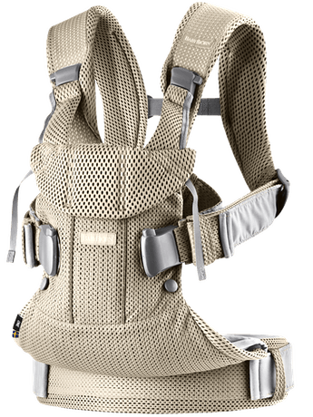 BABYBJORN Baby Carrier Air - Greige, 3D mesh
