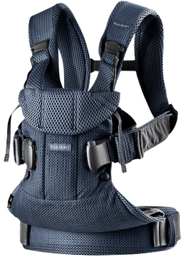 BABYBJORN Baby Carrier Air - Navy Blue, 3D mesh